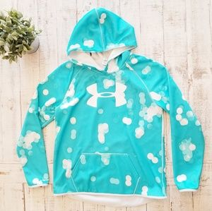 Under Armour Storm Circle Waffle Turquoise Hoodie